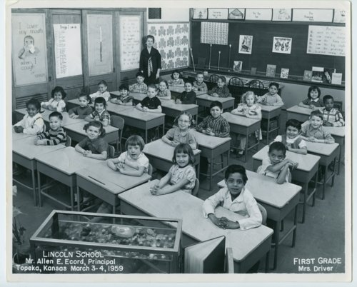First grade at Lincoln School, Topeka, Kansas - Page