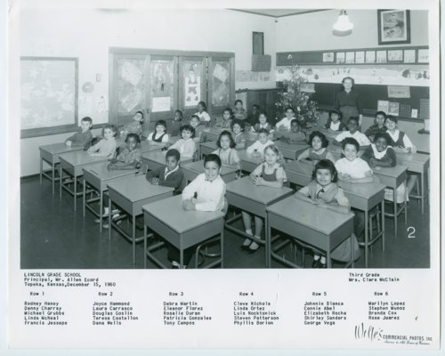 Lincoln School, third grade, 1960 - Page