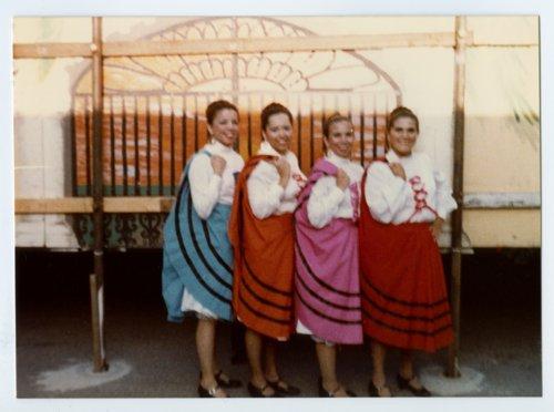 Ana Rodriguez, Joanna Arce, Mary Lou Rodriguez, Loysa Gutierrez at Fiesta, Topeka, Kansas - Page