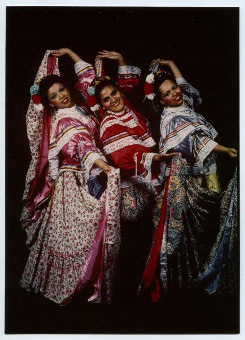 Dancers Ana Rodriguez, Loysa Gutierrez, and Joanna Arce in Topeka, Kansas - Page