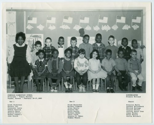 Parkdale Elementary School students - Page