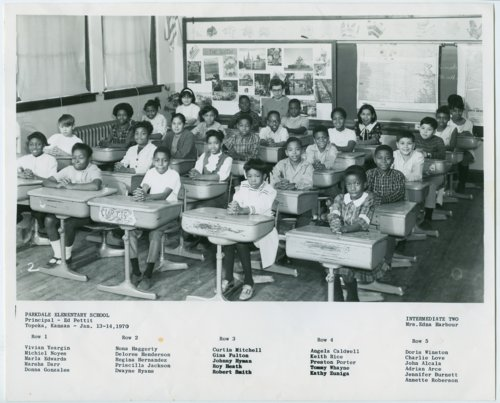 Parkdale Elementary School students, Topeka, Kansas - Page