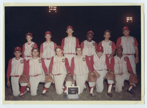 Topeka Van-T baseball team, Topeka, Kansas - Page