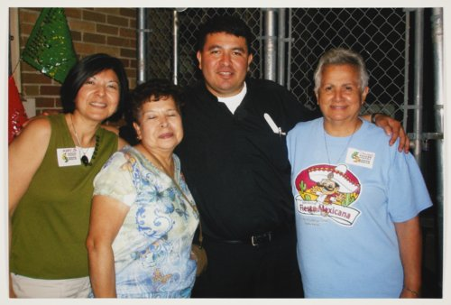 Group of people at the Mexican Fiesta, Topeka, Kansas - Page