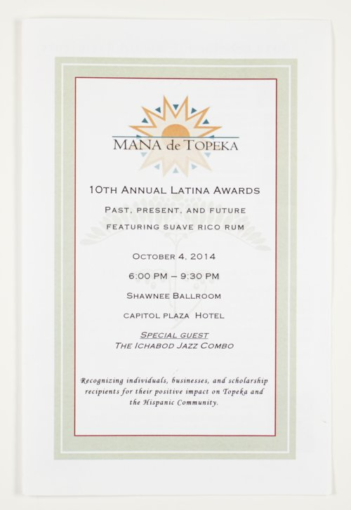 Mana de Topeka, the 10th Annual Latina Awards in Topeka, Kansas - Page