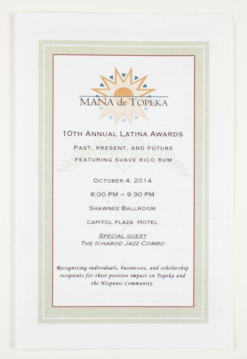 Mana de Topeka, the 10th Annual Latina Awards in Topeka, Kansas - Page