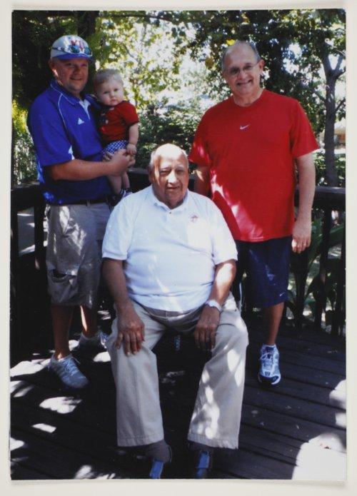 Trent Oliva, Tate Oliva, Joe Oliva, and Richard Oliva in Topeka, Kansas - Page