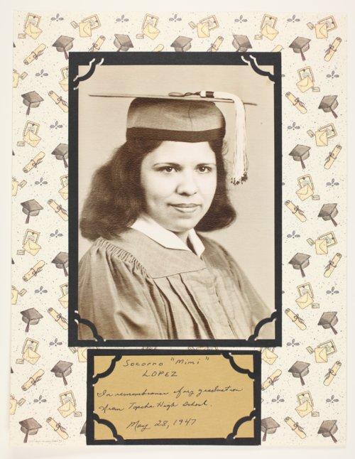 "Socorro ""Mimi"" Lopez, Topeka High School graduate, Topeka, Kansas - Page"