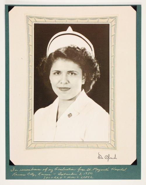 "Socorro ""Mimi"" Lopez, nursing school graduate of St. Margaret's Hospital in Kansas City, Kansas - Page"