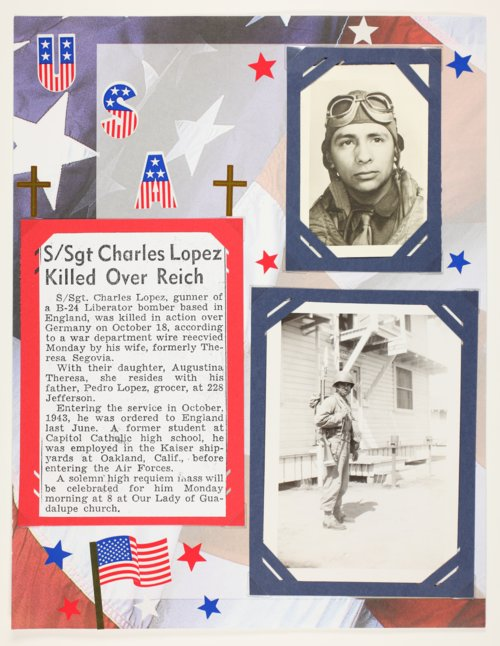 Staff Sgt. Charles Lopez - Page