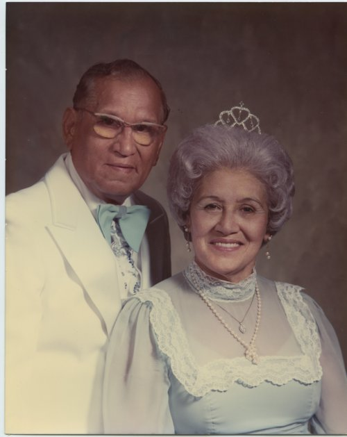 Atanacio and Jane (Juana Gonzales) Corona married in 1978 - Page