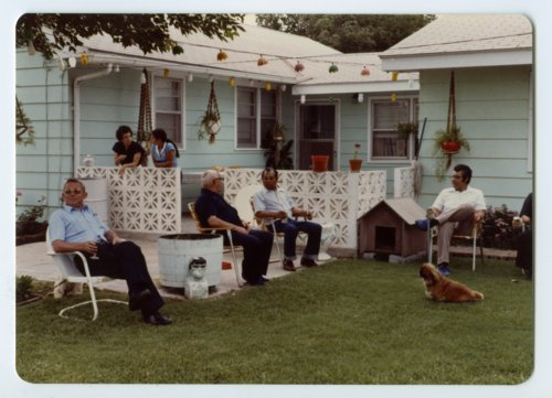 Father Jose at the Campos' home in Topeka, Kansas - Page