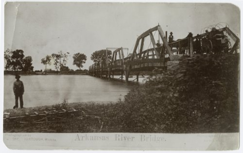 Bridge over Arkansas River, Wichita, Kansas - Page