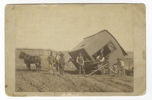 Photography wagon, Downs, Kansas - Page