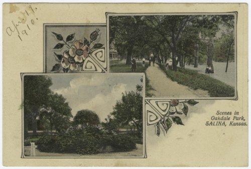 Scenes of Oakdale Park, Salina, Kansas - Page