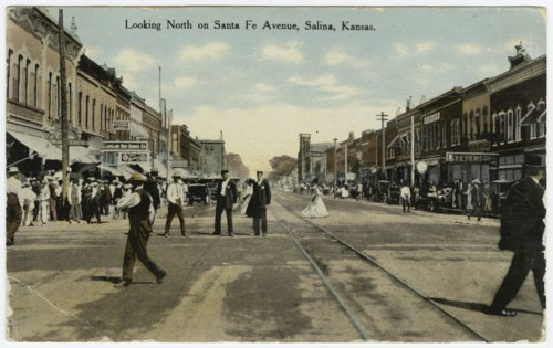Santa Fe Avenue in Salina, Kansas - Page