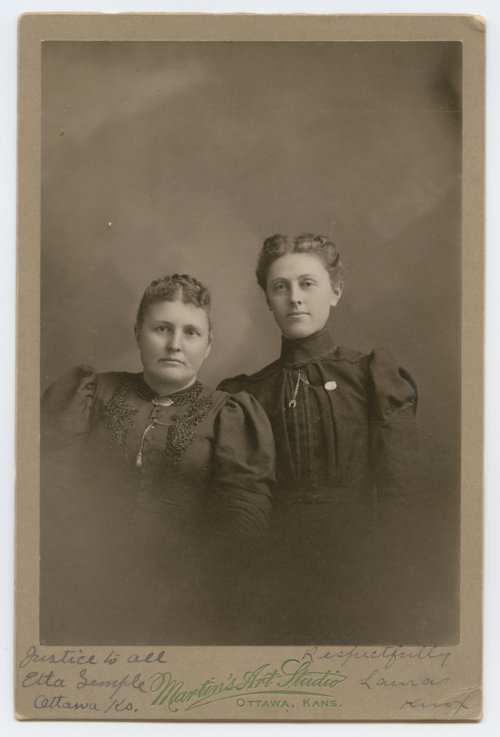 Etta Semple and Laura Knox - Page