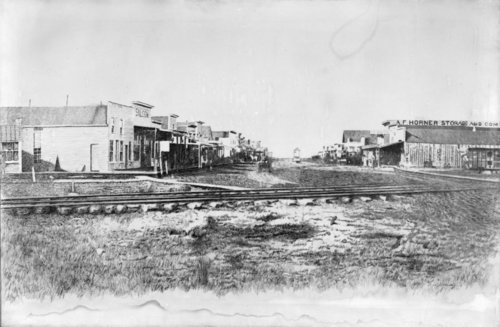 Street scene in Newton, Kansas - Page