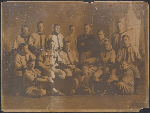 Harry Walter Colmery on the Oberlin College baseball team - Page