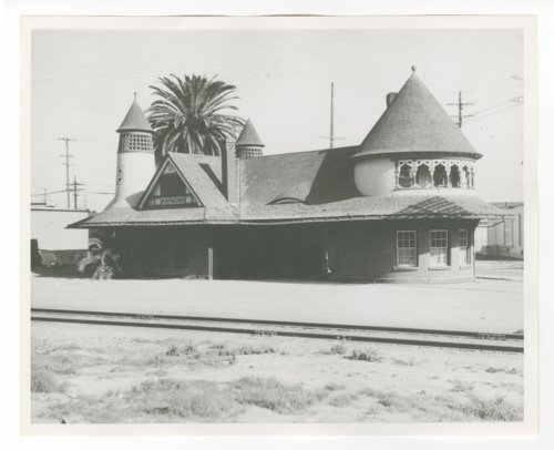 Atchison, Topeka & Santa Fe Railway Company depot, Raymond, California - Page