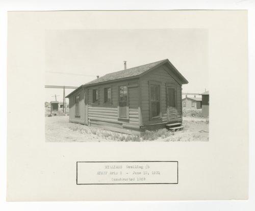 Atchison, Topeka & Santa Fe Railway Company dwelling, Williams, Arizona - Page
