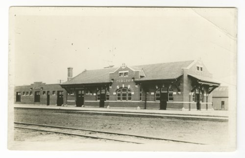 Atchison, Topeka and Santa Fe Railway Company depot, Fowler, Colorado - Page
