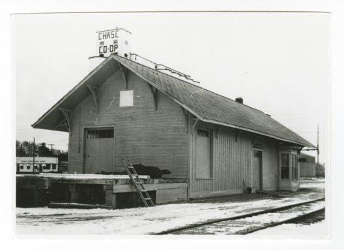 Atchison, Topeka and Santa Fe Railway Company depot, Chase, Kansas - Page