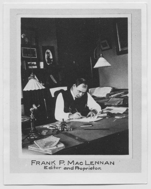 Frank Pitts MacLennan - Page