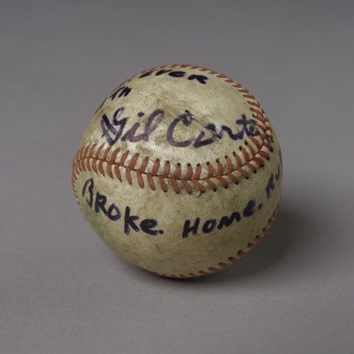 Gil Carter home run baseball - Page