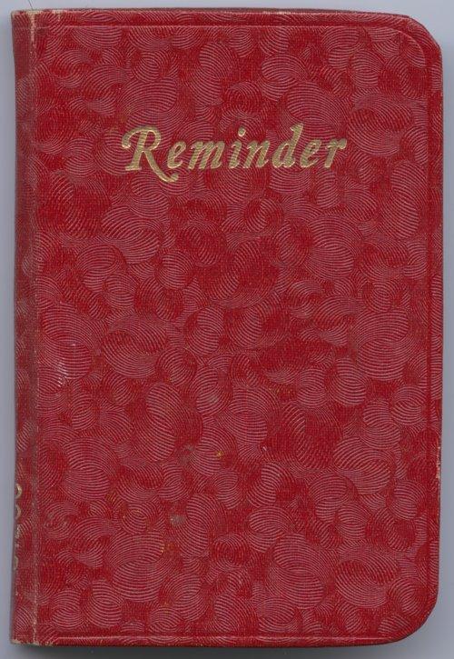 Barbara Thiele's diary - Page