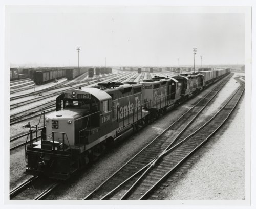 Atchison, Topeka & Santa Fe Railway Company's Corwith Yards, Chicago, Illinois - Page