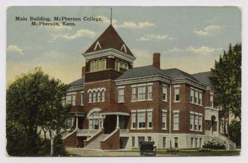 Sharp Hall at McPherson College in McPherson, Kansas - Page