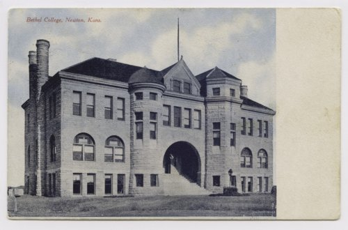 Administration Building at Bethel College in North Newton, Kansas - Page