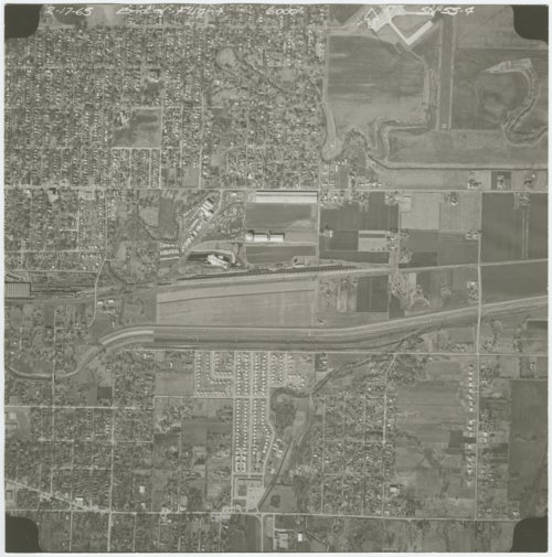 Aerial view of Shawnee County, Kansas - Page