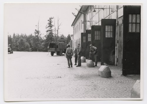 U. S. Army motor pool in Germany during the Cold War - Page