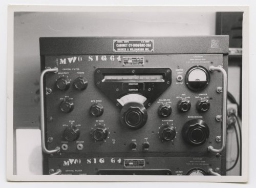 Military radio used by troops in Germany during the Cold War - Page