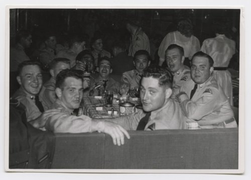 U. S. Army soldiers at a company party probably taken in Germany during the Cold War - Page