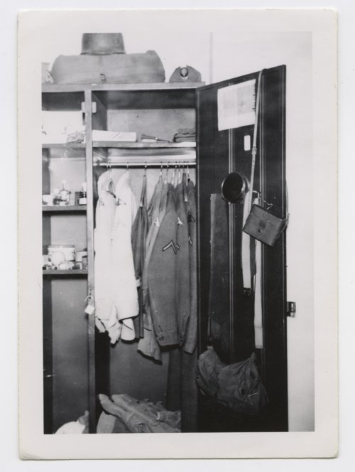Paul H. Meadow's U. S. Army wall locker in Germany - Page
