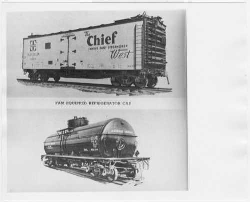 Atchison, Topeka & Santa Fe Railway Company's rolling stock - Page