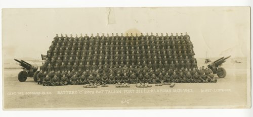 Battery C, 28th Battalion at Fort Sill, Oklahoma - Page