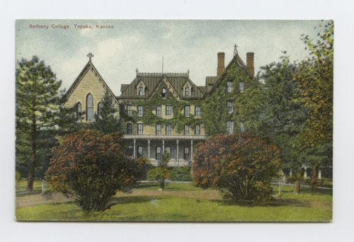 College of the Sisters of Bethany, Topeka, Kansas - Page