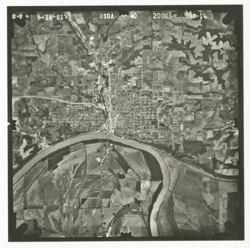 Aerial photograph of Atchison, Kansas - Page