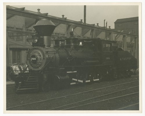 Atchison, Topeka & Santa Fe Railway's steam locomotive #2414 - Page