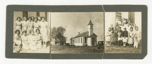 Potawatomi Indian mission church and home - Page