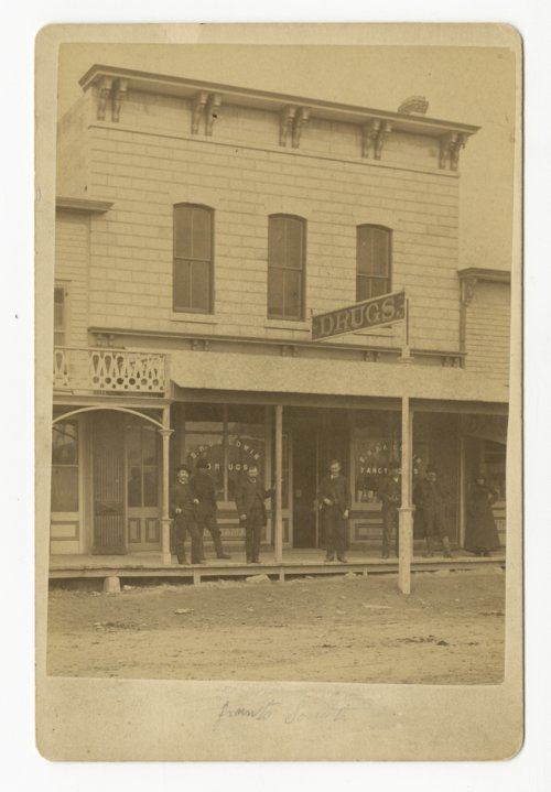 S. H. Baldwin drug and general store in Osborne, Kansas - Page