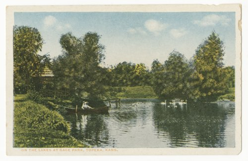 On the lakes at Gage Park in Topeka, Kansas - Page