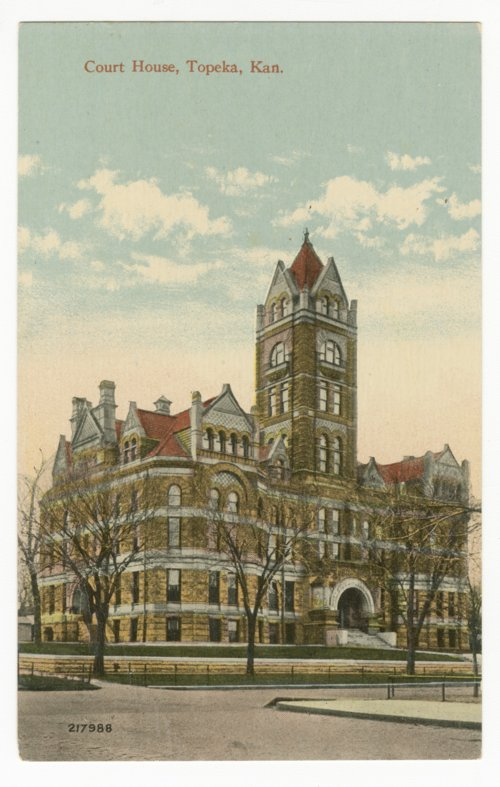 Shawnee County courthouse in Topeka, Kansas - Page
