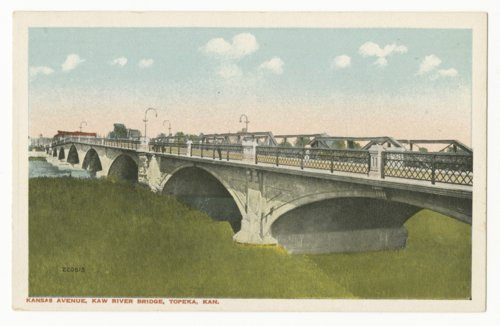 Melan bridge over the Kansas River in Topeka, Kansas - Page