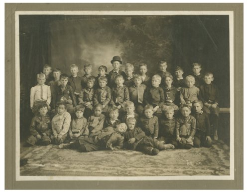 Group of boys possibly taken in Wakeeney, Kansas - Page