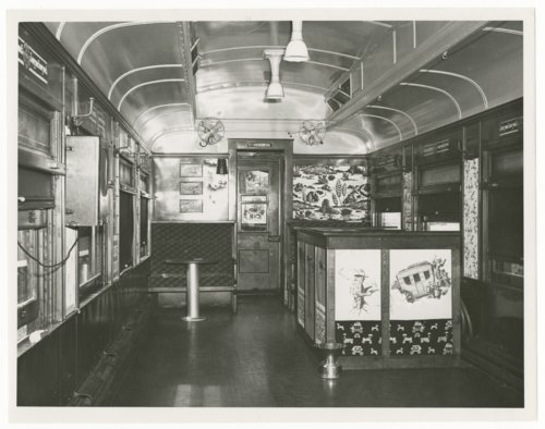 Atchison, Topeka & Santa Fe Railway Company's rumpus car - Page